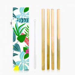 Pailles en bambou français