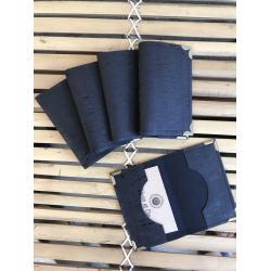 Porte-cartes en cuir de liège
