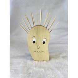 Porte cure-dents Tête Punk triste