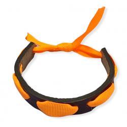 Bracelets en cuir et ruban