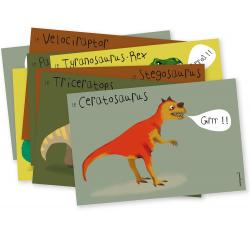 Mes Invitations Dinosaures